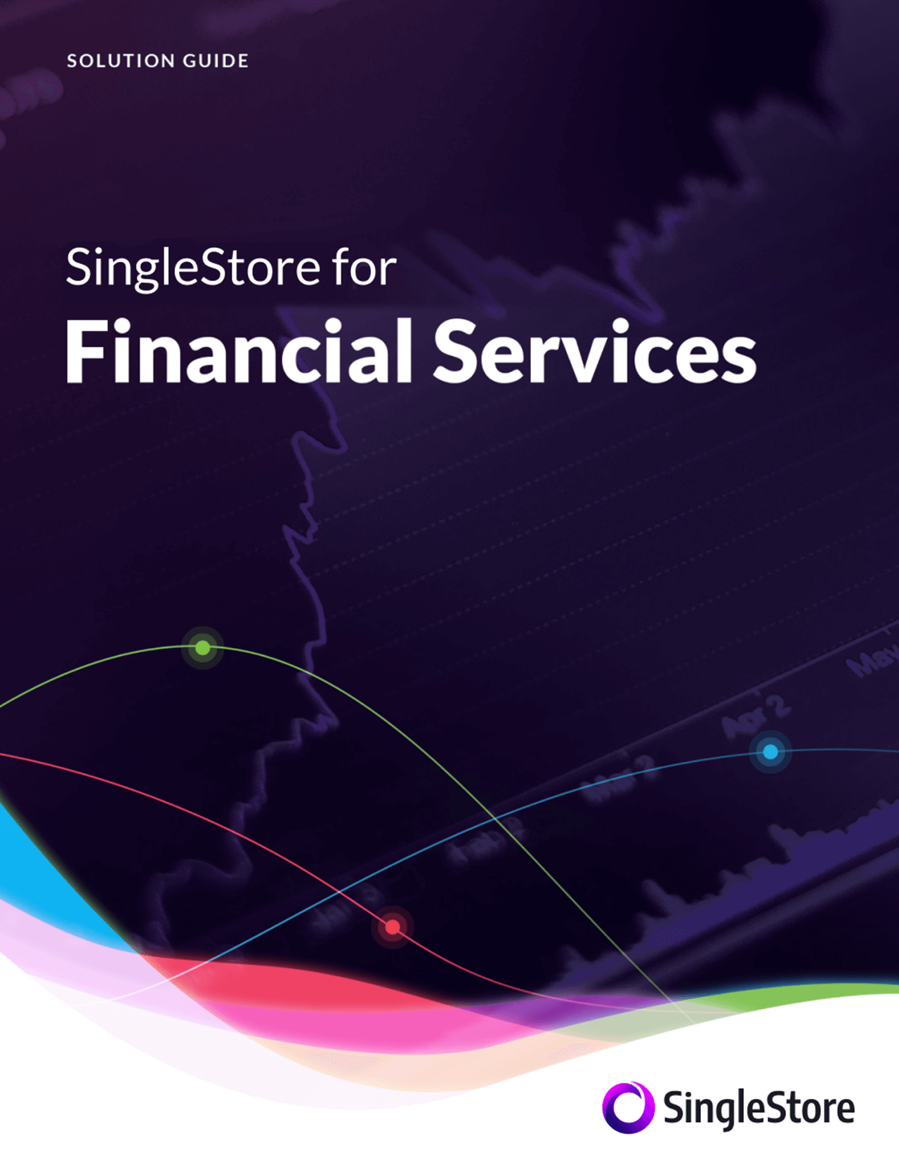 SingleStore for Financial Services Ebook Cover