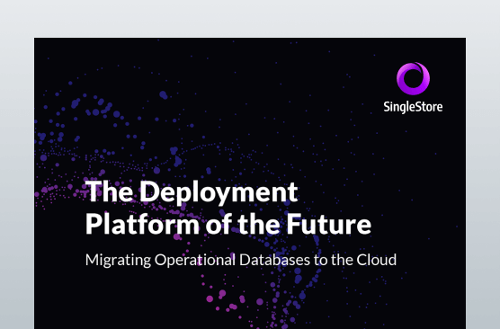Migrating Operational Databases to the Cloud